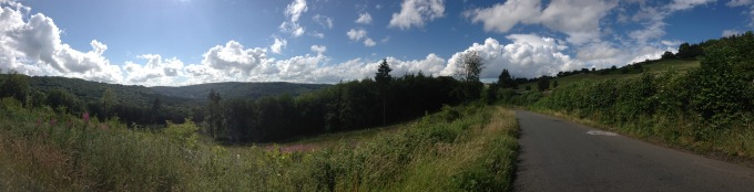 St Briavels, Monmouth Scenery