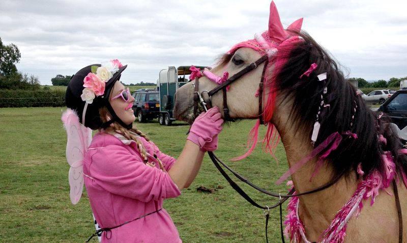 kisses at canter for a cure summer 2015