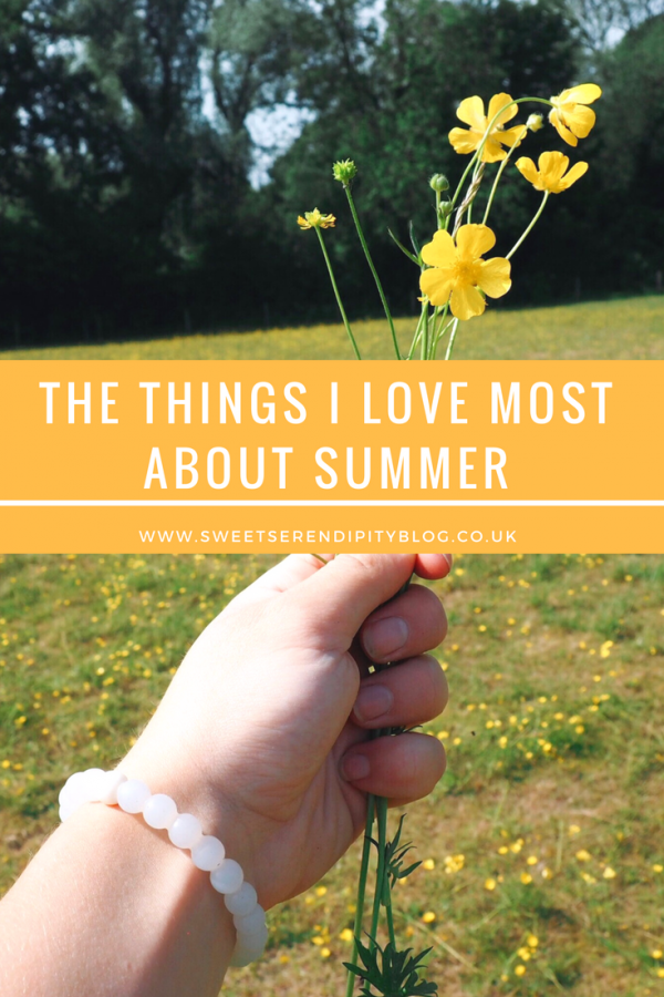 Things I love about summer
