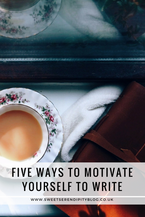 Five Ways to Motivate Yourself to Write