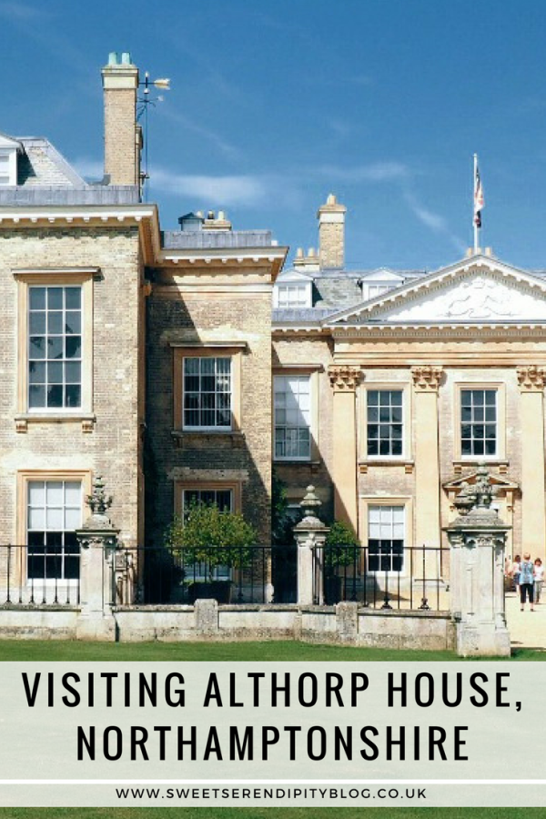 Visiting Althorp House, Northamptonshire