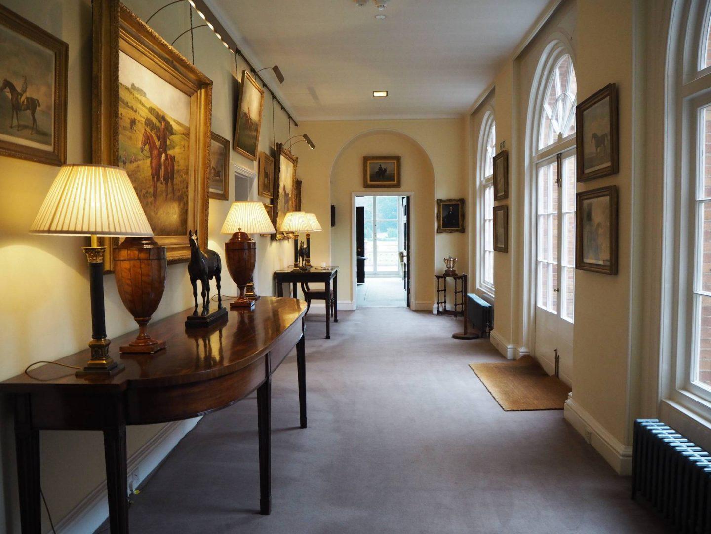 Corridor Inside Jockey Club Rooms Newmarket