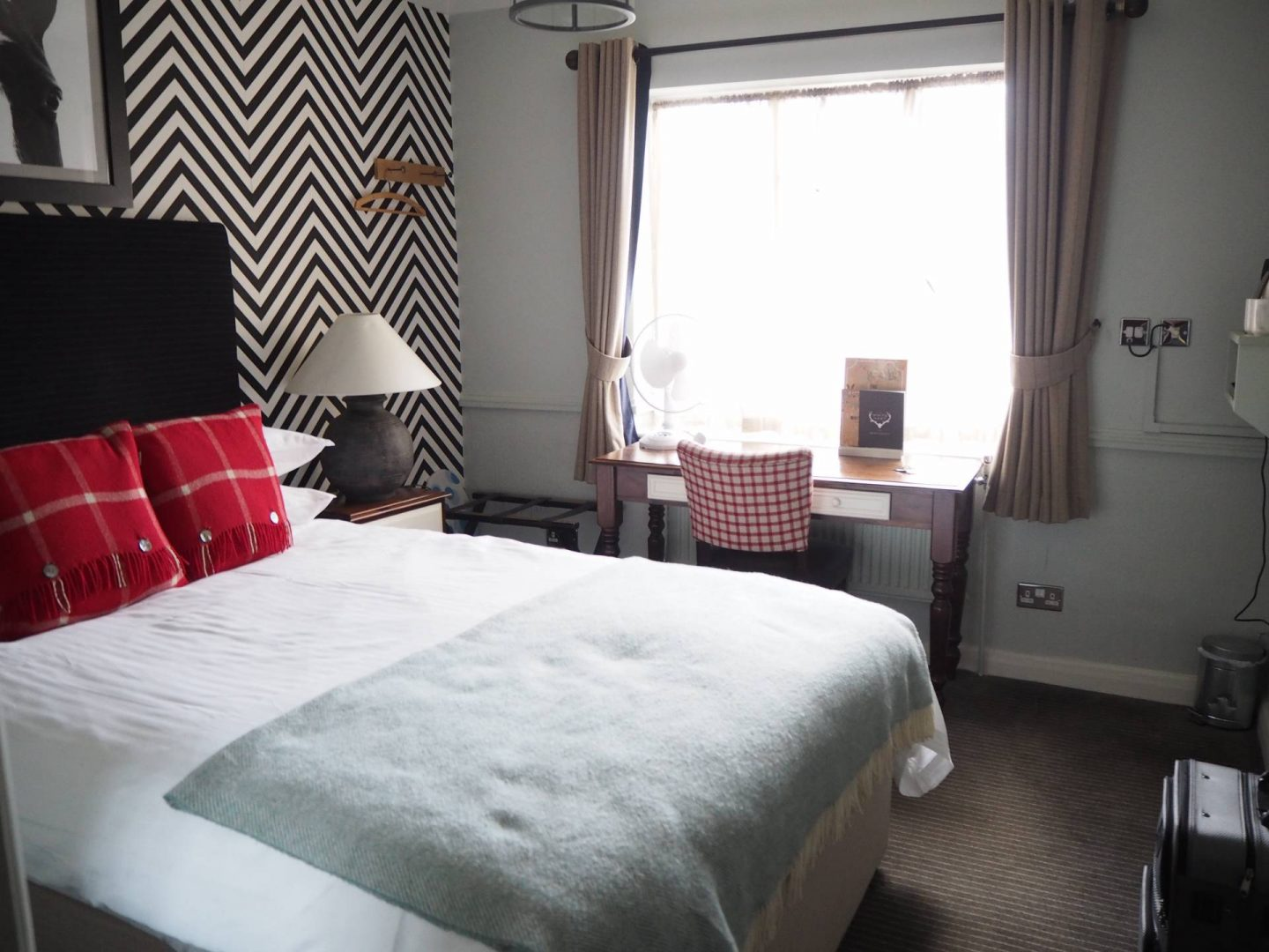 The White Hart Hotel Bedroom