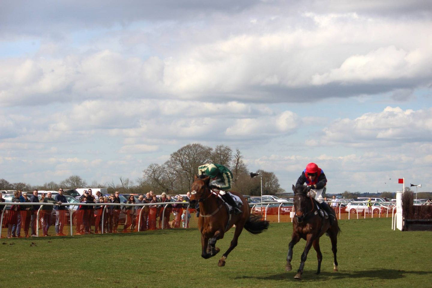 A day out at the point to point horse races