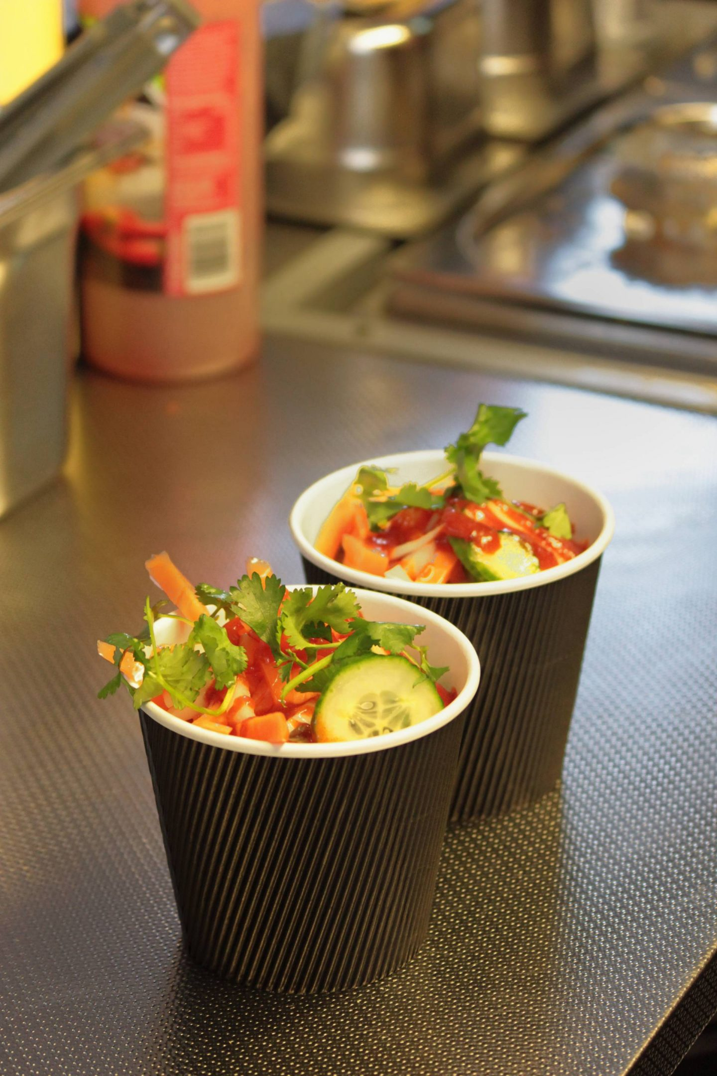 Food pots from Banh Mi MK Newport Pagnell Street Food