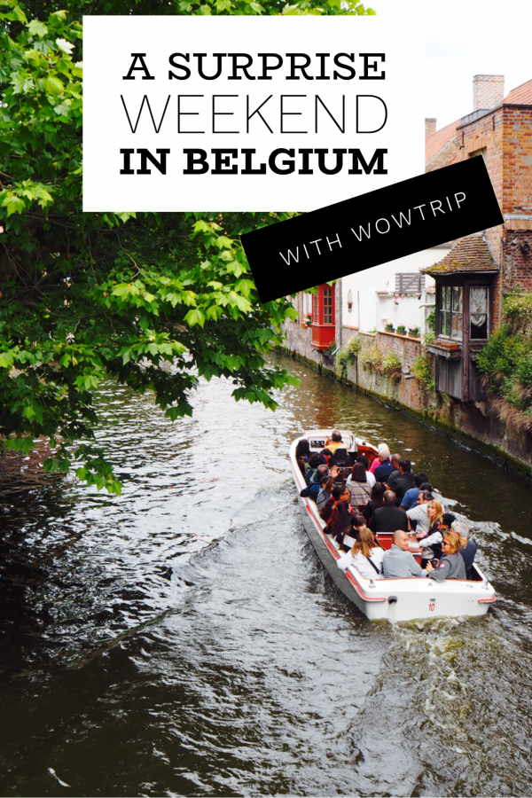 A Surprise Weekend in Belgium with WowTrip