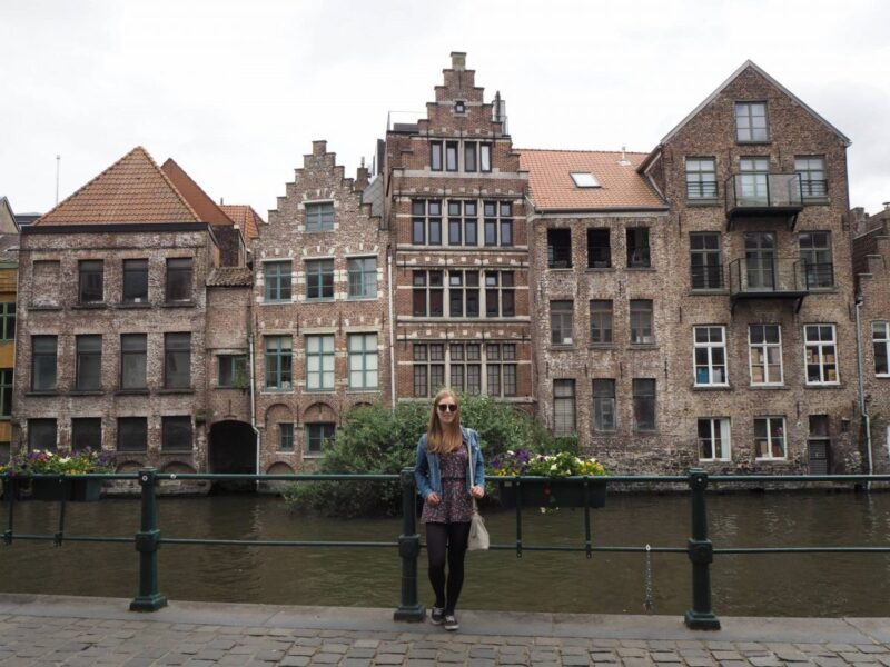 Exploring Ghent on foot