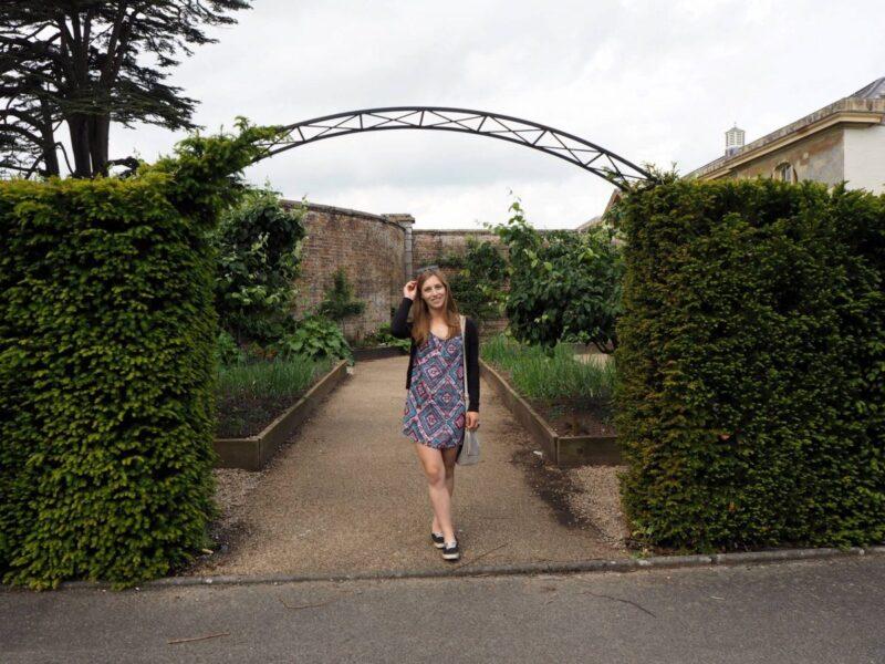 Walking through Woburn Abbey's Gardens