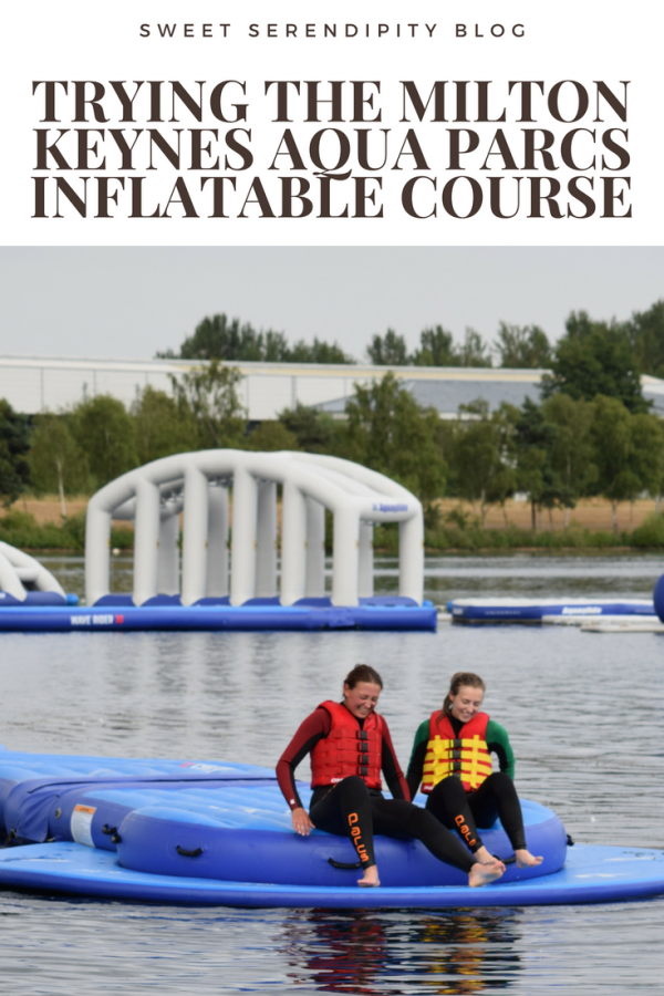 Trying the Milton Keynes Aqua Parcs Inflatable Course