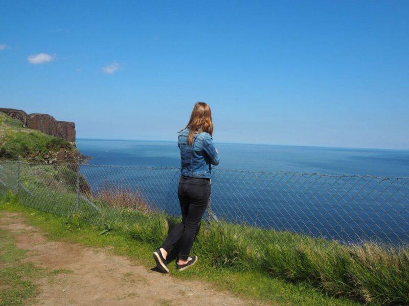 A road trip to Isle of Skye, visiting Mealt Falls on the Isle of Skye