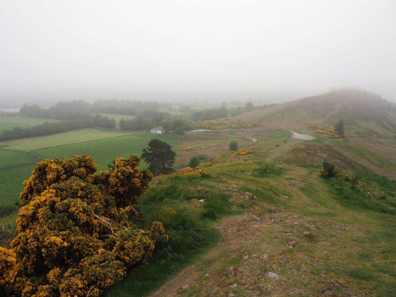 Walking the Knock Farrel Ridge walk in Scotland