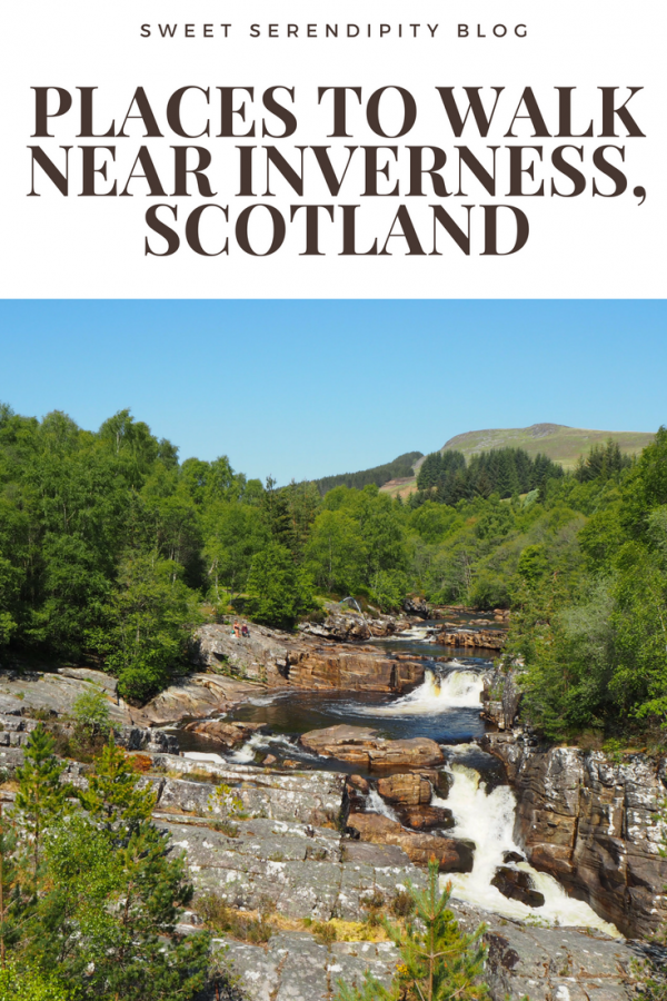 Places to walk near Inverness, Scotland