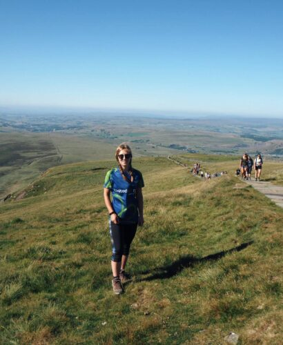 Hiking Pen-y-Ghent in the Yorkshire Dales