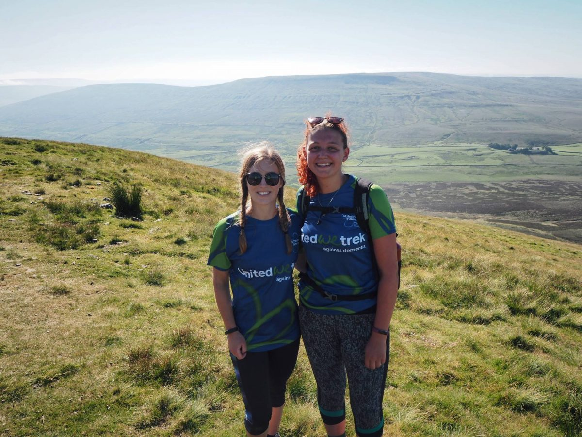 Hiking the yorkshire three peaks
