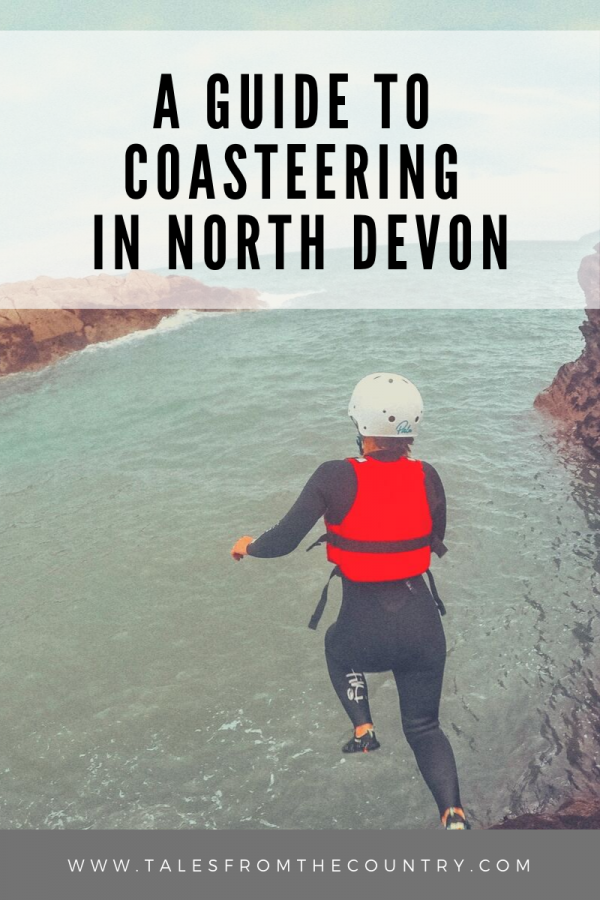 A guide to coasteering in North Devon