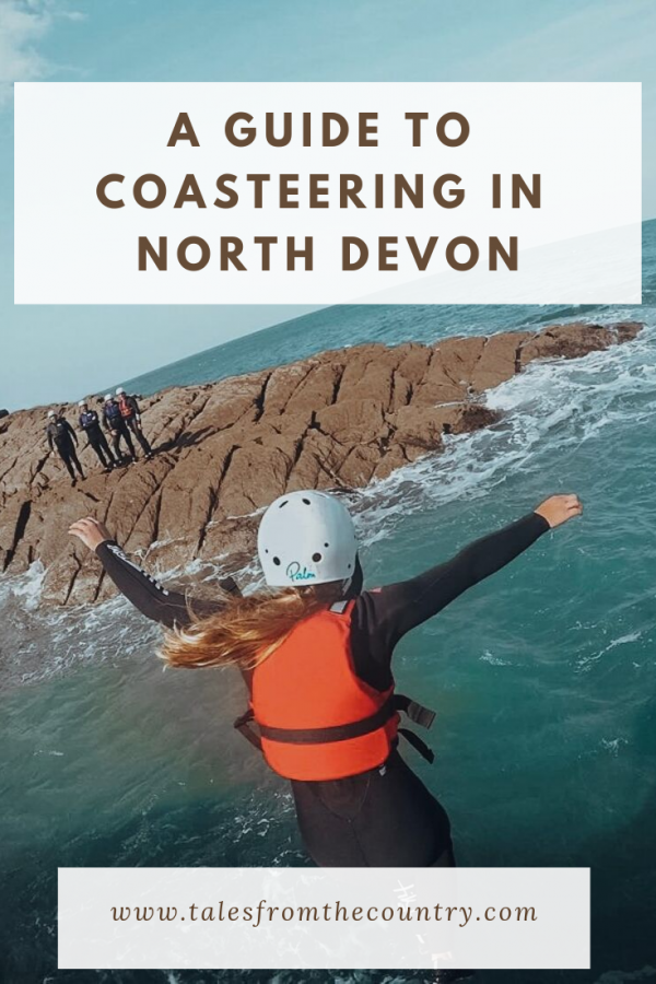 A short guide to coasteering in North Devon