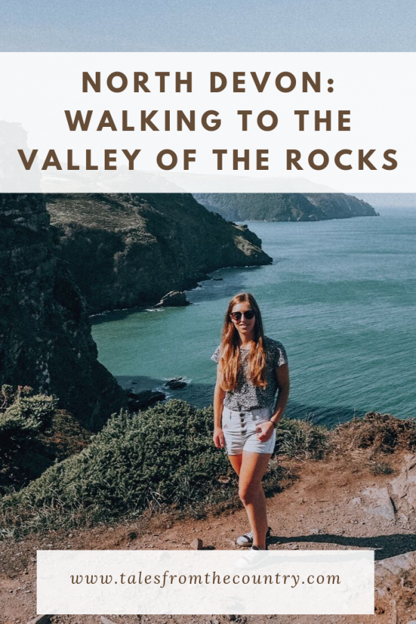 A walk through the Valley of the Rocks in Exmoor, North Devon
