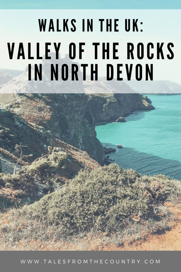 Walks in the UK: Valley of the Rocks in North Devon