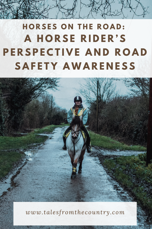 A horse rider's perspective to riding on the roads and road safety awareness