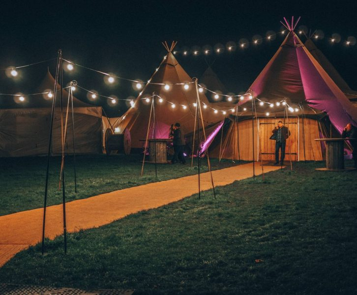 Nordic tipi wonderland by Scandinavia Events