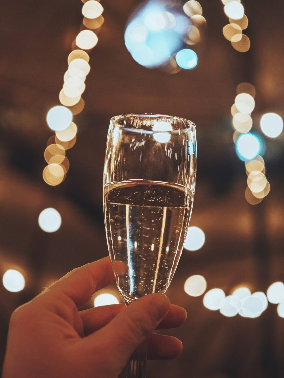 Guests are given a complimentary arrival drink (either prosecco, beer or a soft drink) when attending a Scandinavia Events Christmas party in Milton Keynes