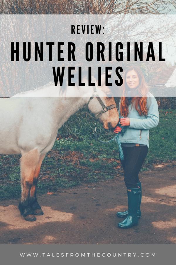 Hunter original wellies review