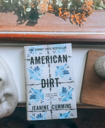 American Dirt book by Jeanine Cummins