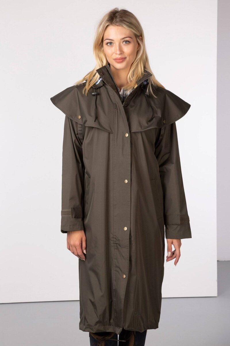 Rydale long wax jacket