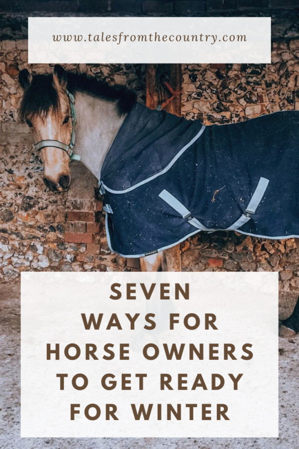 Seven ways for horse owners to get ready for winter