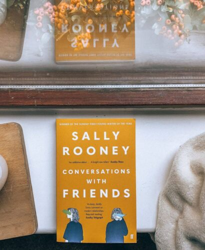 Book Conversations with Friends by Sally Rooney