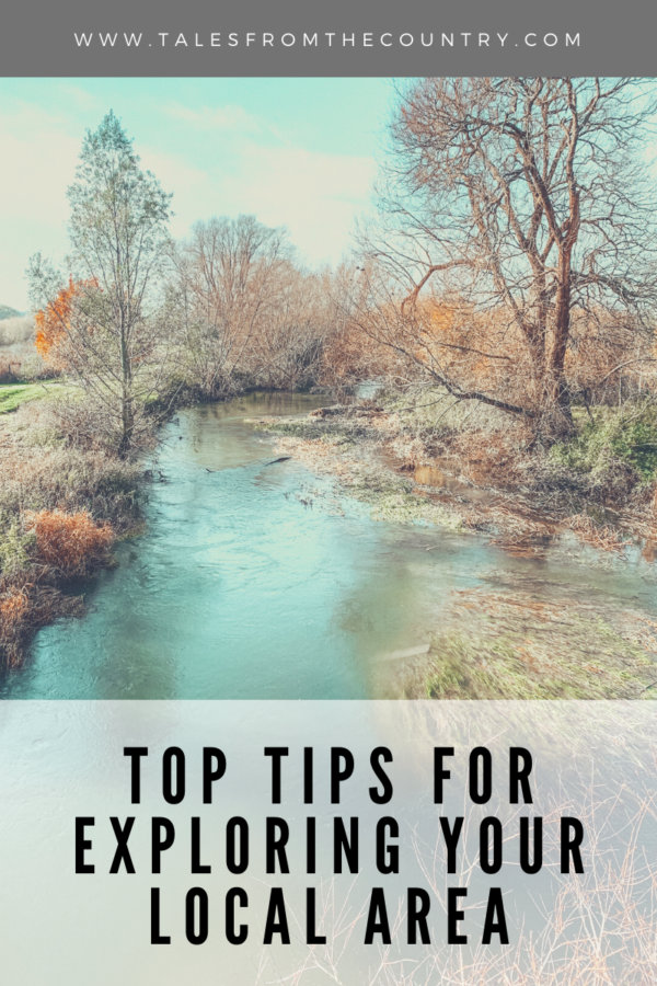 Top tips for exploring your local area