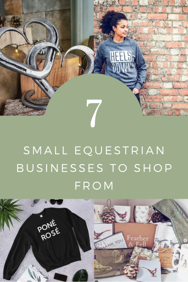 7 equestrian small businesses to shop from