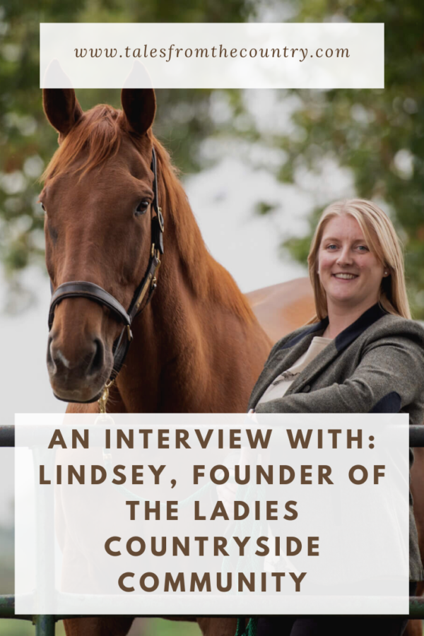 An interview with the founder of the Ladies Countryside Community