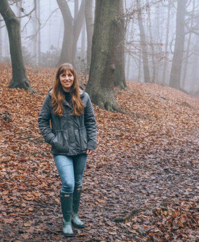 Girl in Aspley Woods Bedfordshire