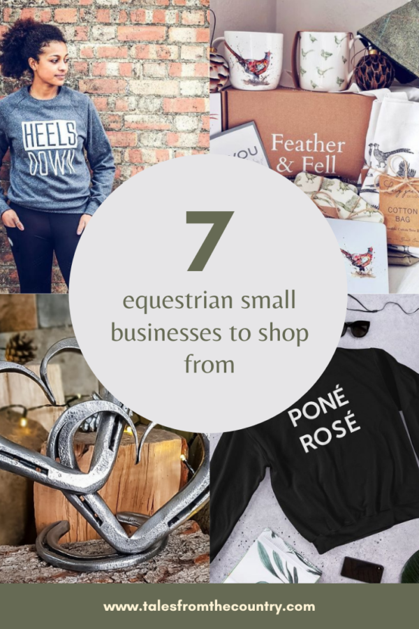 Seven equestrian small businesses to shop from