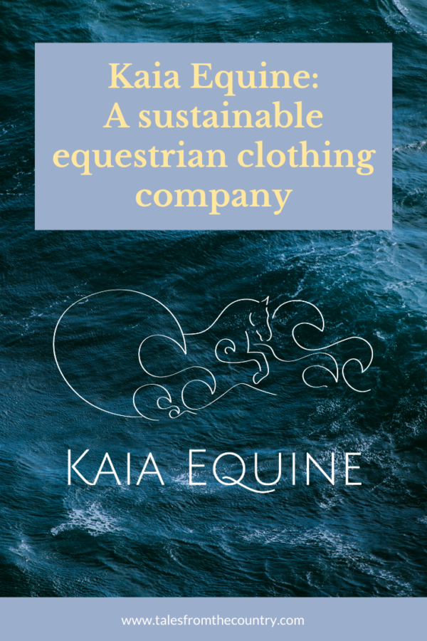 Sustainable equestrian clothing company_ Kaia Equine