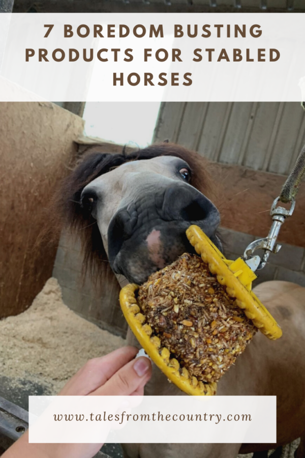 7 boredom busting products for stabled horses