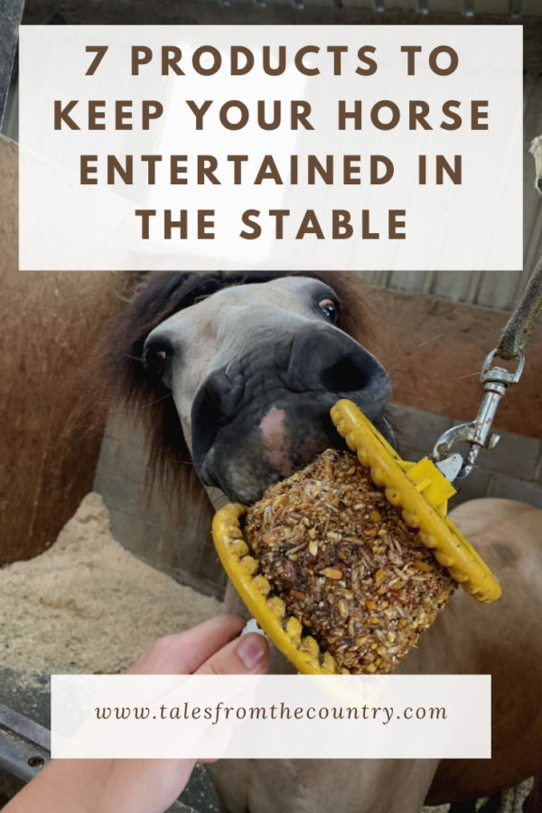 7 products to keep your horse entertained in the stable