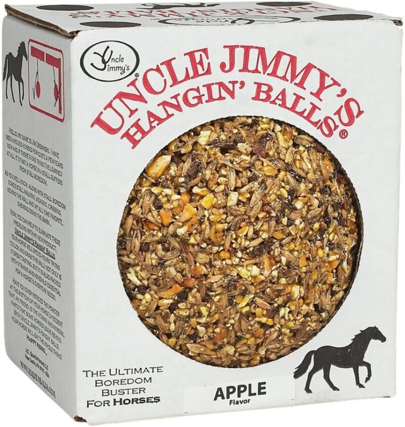 Uncle Jimmy's Hangin Balls Horse Treat