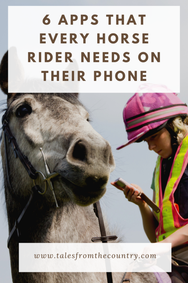 6 apps that every horse rider needs on their phone