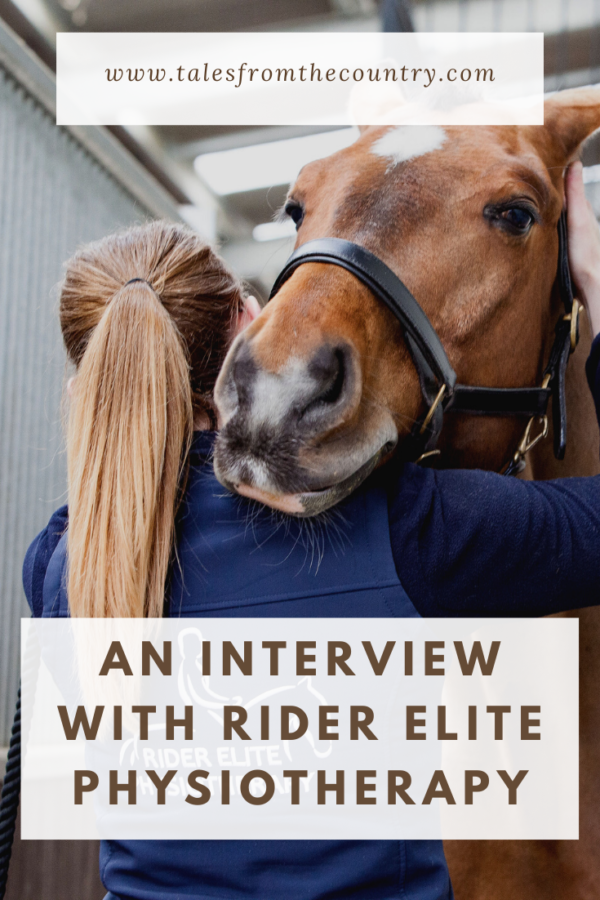 An interview with the founder of Rider Elite Physiotherapy