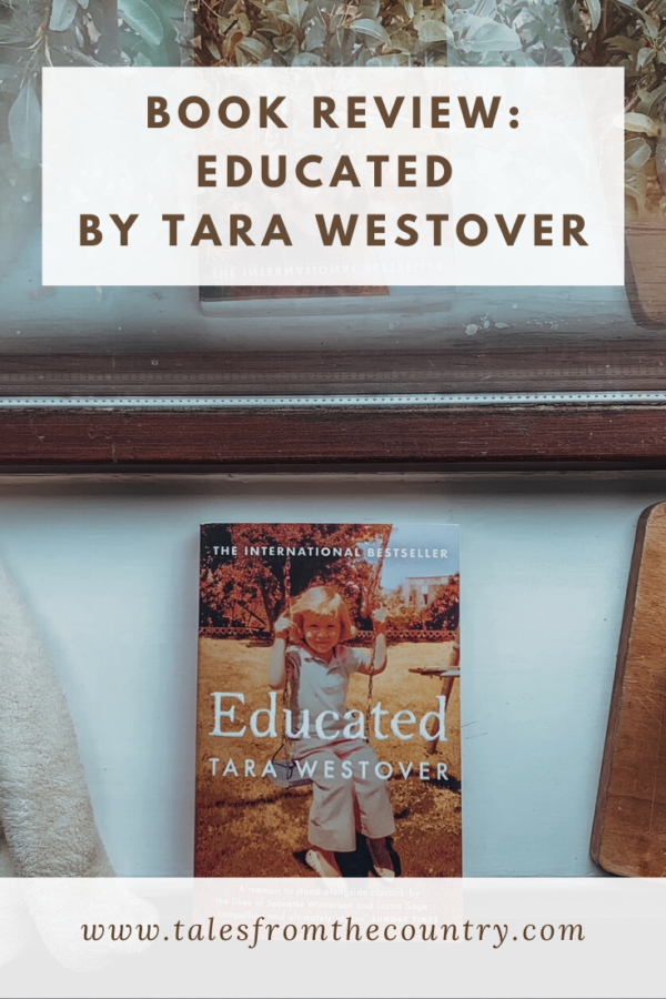 Book review of Educated by Tara Westover