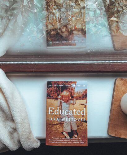 The memoir Educated by Tara Westover