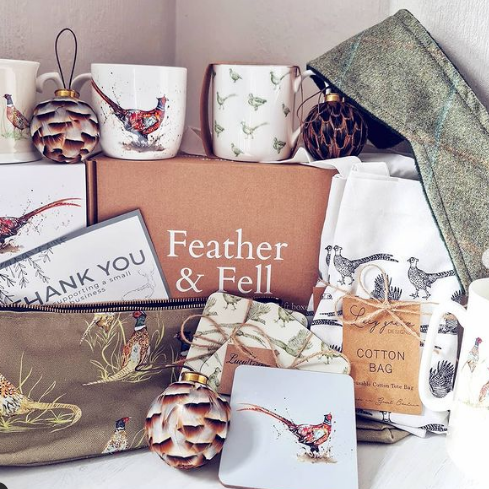 Feather and Fell gift box